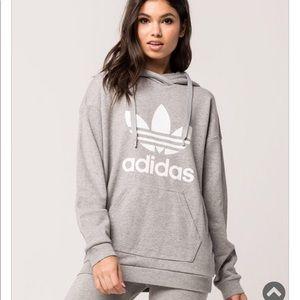 Adidas Trefoil women hoodie